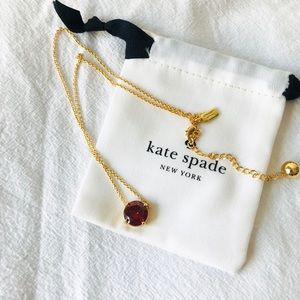 ❗️LAST ONE❗️ Kate Spade Round Pendant Necklace